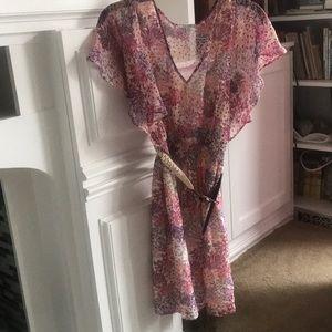 Delia's boho flowery dress (perfect for swing!)